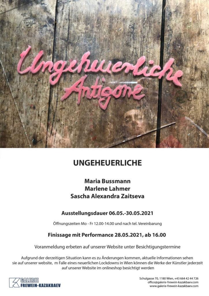 Einladung Ausstellung Ungeheuerlichen