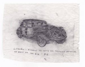 Skizze Frederick Steinmann
